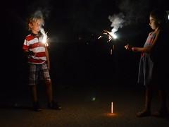 Sparklers (Joe Shlabotnik) Tags: 2018 july2018 higginsbeach maine sparklers gabriella everett afsdxvrzoomnikkor18105mmf3556ged