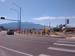 Citizens Protest Zinke in Bernalillo (WildEarthGuardians) Tags: zinke frackoffchaco fracking keepitintheground
