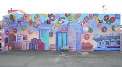 Flying Donuts Tucson Arizona (Ilhuicamina) Tags: amysdonuts donuts tucson arizona murals art paintings southwestern