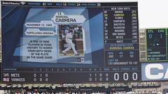 Mets Lead going into 4th (Mark Shallcross) Tags: yankees yankeestadium baseball mets ny subway series 0f4a2381r16x9 cabrera asdrubalcabrera