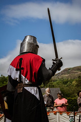 DSC_0007-1-2 (Coed Celyn Photography) Tags: knights medieval reenactment re enactment larp live living history armour armor chainmail plate helmet sword shield axe mace weapons weapon castle abbey historical battle fight tournament tabard