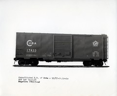 5128001 (barrigerlibrary) Tags: acf americancarandfoundry box car consolidated railways cuba
