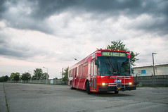 NABI 40C-LFW (ac.Zadam) Tags: north american bus factory nabi public transportation composite compobus compo hungary budapest 40clfw clouds stormy red