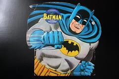 Batman Die-Cut Record Sleeve ( Synthetic Plastics Co. 1960's ) (Donald Deveau) Tags: batman superhero dccomics record 45rpm vinyl illustration comicbook