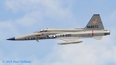 N685TC Northdrop F-5A Freedom Fighter (Anhedral) Tags: n685tc northdrop f5 f5a freedomfighter jet military supersonic airdisplay