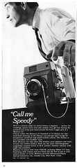 "Mamiya 23 Standard & Deluxe press cameras advertisement. (Jerry Vacl) Tags: advertisement bw presscamera rangefinder mamiya23standard mamiya23deluxe 196510""modernphotography""magazine nikond7200 micronikkor40mmf28g"