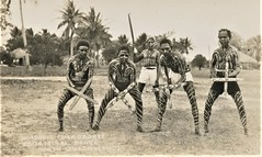 Windmill Corroboree by aborigines in North Queensland - early 1900s (Aussie~mobs) Tags: australia vintage queensland windmillcorroboree natives indigenous aborigines northqueensland dance corroboree painted ceremony
