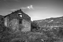 Castiglioncello 5 (Fabio(Mondo)Mondini) Tags: paeseabbandonato rovine abbandonato blackwhithe