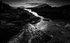 River Runs (-- Q --) Tags: wildatlanticway republicofireland connemaranationalpark connemaraloop atlanticocean atlanticcoast mountains monochrome leefilters marumidhgcpl letterfrack ballinakill qthompson