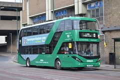 Nottingham City Transport 409 YP17UFN (Will Swain) Tags: nottingham 6th april 2018 nottinghamshire bus buses transport travel uk britain vehicle vehicles county country england english city centre nct williamsdigitalcamerapics100 409 yp17ufn