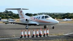 N117EA (goweravig) Tags: n117ea visiting aircraft eclipse eclipseaviation 500ea bizjet swanseaairport swansea wales uk