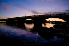 London Bridge Arizona (ChrisN02) Tags: arizonaoasis boats bridge coloradoriver desert lake lakehavasu lakehavasusunset londonbridge robertpmccaulloch sky sunset water blue bluesky nikon d800