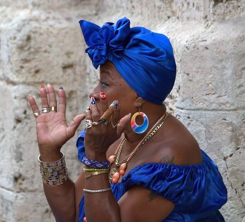 Chroniques cubaines 32 : la Femme aux ongles et au cigare