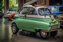 BMW ISETTA 250 COUPE - rear view (Peter's HDR hobby pictures) Tags: petershdrstudio hdr classiccar classicremise oldtimer klassiker auto bmw car