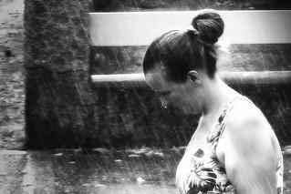 Jour de pluie.