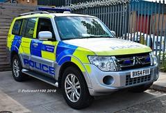 Metropolitan Police Mitsubishi Shogun Dog Sction BX64 FVV MTW (policest1100) Tags: metropolitan police mitsubishi shogun dog sction bx64 fvv mtw