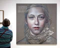 Self: Past, Present and Future (l plater) Tags: selfpastpresentandfuture kathrinlonghurst 2018archibaldprize artgallerynsw sydney coldwar eastgermany maia palaceoftherepublicofberlin