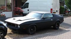 1973 Ford Mustang Mach 1 V8 [1974] (rvandermaar) Tags: 1974 ford mustang mach 1 v8 fordmustang mach1 sidecode4 yg10yk 1973 rvdm