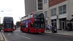 Arriva London South T285 LJ13CGG   412 to West Croydon (Unorm001) Tags: t199 t 285 199 197 412 lj13cgg lj13 cgg sn08aae sn08 aae red london double deck decks decker deckers buses bus routes route diesel