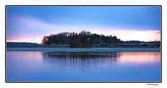 hanasaari - suomi (harrypwt) Tags: harrypwt finland 40d 18200 espoo helsinki coastal reflections paintinglike hanasaari landscape sea water sky