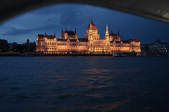 Hungarian Parliament (AgarwalArun) Tags: sony a7m2 sonyilce7m2 landscape scenic nature views europe centraleurope hungary budapest danube river hungarian parliament night reflection