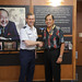 Lt. Gen. Kenneth S. Wilsbach, USAF, visits the Daniel K. Inouye Asia Pacific Center for Security Studies 1