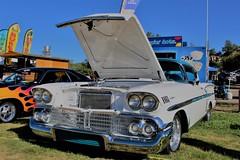 Chevy Impala (ashman 88) Tags: chevy chevrolet impala chevyimpala classic americaniron carshow 1958chevyimpala paccwatsonlakecarshow prescottantiquecarclub 44thannualwatsonlakeantiquecarshow