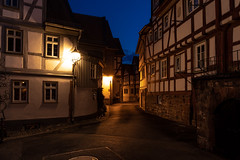 Büdingen bei Nacht (janeway1973) Tags: büdingen nacht night dark lights dunkelheit dunkel darkness lichter laternen lanterns historic center historisch altstadt stadtkern