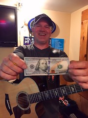@scottmband First $100 tip for Veterans (scottmagill) Tags: acoustic acousticguitar neads vets veterans charity giveback givingback servicedogs guitar gigs gigging soloartist