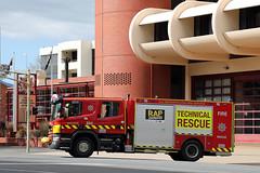 SAMFS | 1104 | ADeLaide 204 - new Technical Rescue Signage (adelaidefire) Tags: sa samfs mfs south australian metropolitan fire service scania bell environmental technical rescue 1104