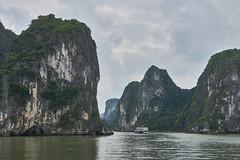 Entering the Bay (radkuch.13) Tags: asia vietnam halong bay water sea sony sonyalpha a6000 ship