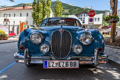 Classic Car: Jaguar Mark 2 (1960)? (BIngo Schwanitz) Tags: 2017 bingoschwanitz bingos d500 ingoschwanitz jaguar nationalpark nationalparkhohetauern nikkor nikon nikonafs16801284eed nikond500 osttirol outdoor virgen virgental jaguarmark2 österreich prägten