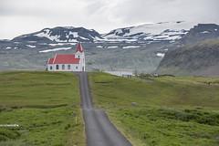 Kirk - Iceland (christineXVIII) Tags: ifttt 500px islande country road rural scene landscape hill horizon over land field countryside dirt mountain range scenery nonurban iceland d850 nikon travel kirk church hellissandur