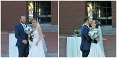 post ceremony posing/fun (karma (Karen)) Tags: baltimore maryland fellspoint weddings fdimmaritimepark family bride groom windows reflections hww