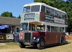 78 GTP995 (PD3.) Tags: 78 gtp995 gtp 995 portsmouth corporation leyland pd2 bus buses psv pcv hampshire hants england uk alton anstey park mid railway watercressline water cress line preserved vintage 15 07 2018 july rally running day