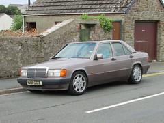 Mercedes-Benz 190E (Andrew 2.8i) Tags: car cars classic classics carspotting street spot spotting german saloon sedan w201 190 190e mercedesbenz