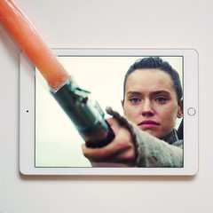 Flash Wars (juanfm2594) Tags: rey starwars cine film sw friki nerd ipad darthvader luke lightsaber espada original tumblr zaragoza spain fan gx80 lumix panasonic
