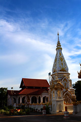 Wat That Prasit , Nakhon Phanom, Thailand (www.icon0.com) Tags: ancient architecture asia beautiful bone buddha buddhism building chedi chest colorful culture local nakhon northeastern pagoda phanom prasit relic religion respect sculpture statue symbol temple thailand tower wat worship