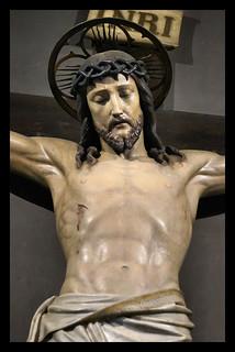 Santo Crocifisso -  Passione di Gesù Cristo  -  Chiesa di Sant'Alfonso all'Esquilino a Roma.
