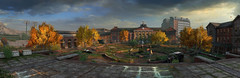 The Last of Us Remastered (Matze H.) Tags: the last us remastered uhd 4k panorama screenshot playstation 4 pro campus school university sunset sunrise autumn fall clouds empty