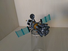Lego Orbital Kinetic Strike Satellite (2) (Parm Brick) Tags: lego artificial satellite constellation military spy orbital kinetic strike cannon space moc mod afol modern warfare custom super weapon secret