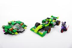 "Nya's Formula - LEGO Ninjago 70641 Alternate MOC (""grohl"") Tags: nya lloyd ninja ninjago f1 formula flying flyer plane jet vehicle v6 v8 racing race racer speed fast cool new grohl666 grohld 70641 lego 2018"