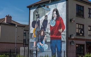 Bernadette Devlin mural