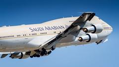 Boeing 747-3G1HZ-HM1A Saudi Arabian Government (William Musculus) Tags: spotting airport basel mulhouse freiburg bsl mlh eap lfsb hzhm1a saudi arabian government boeing 7473g1 747300 sv sva