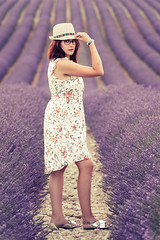 _DSC7751 (quentinfrans) Tags: d750 tamron 70200 france valensole angelvin provence lavande girl women femme