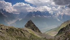 Chamonix Valley (Capchure.ch) Tags: mountains valley climbing climbers glacier alps alpine ridge explore wonder roam france switzerland