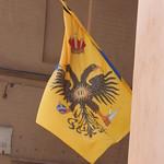 Via di Monna Agnese, Siena - flag - The Noble Eagle District (Aquilla) thumbnail