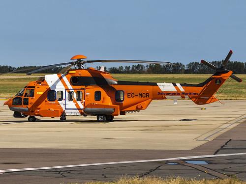 Salvamento Maritimo | Airbus Helicopters EC225LP Super Puma Mk2+ | EC-MCR