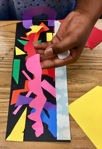 """2nd grade Matisse Cutouts • <a style=""""font-size:0.8em;"""" href=""""http://www.flickr.com/photos/57802765@N07/43775681101/"""" target=""""_blank"""">View on Flickr</a>"""