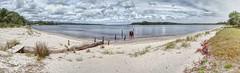 Strahan beach (taszee63) Tags: tasmania panorama strahan hdr 3xp beach sand water